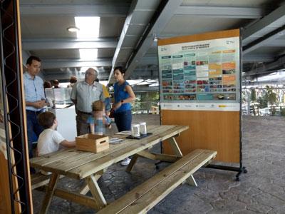 Colaboración en terraza de BioDomo con ocasión del Día de los Océanos