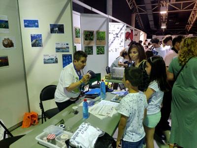 Participación en el día de Puertas abiertas y Feria de la ciencia