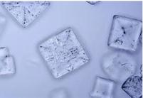 Cristalización de la sal común