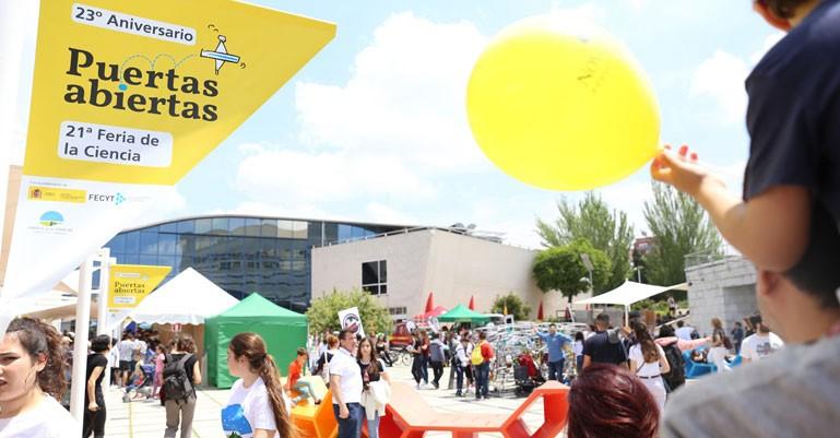 21ª Feria de la Ciencia y 23º Aniversario del Parque de las Ciencias