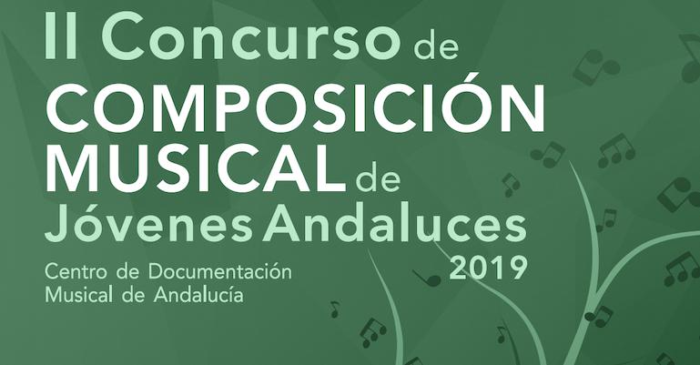 Concierto y entegra de premios del II Concurso de COMPOSICIÓN MUSICAL de Jóvenes Andaluces 2019
