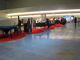 Exposición en el Pabellón Tecnoforo