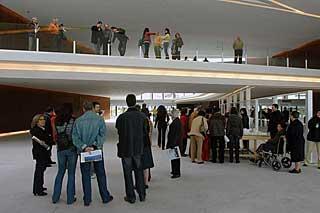 Zona central del vestibulo