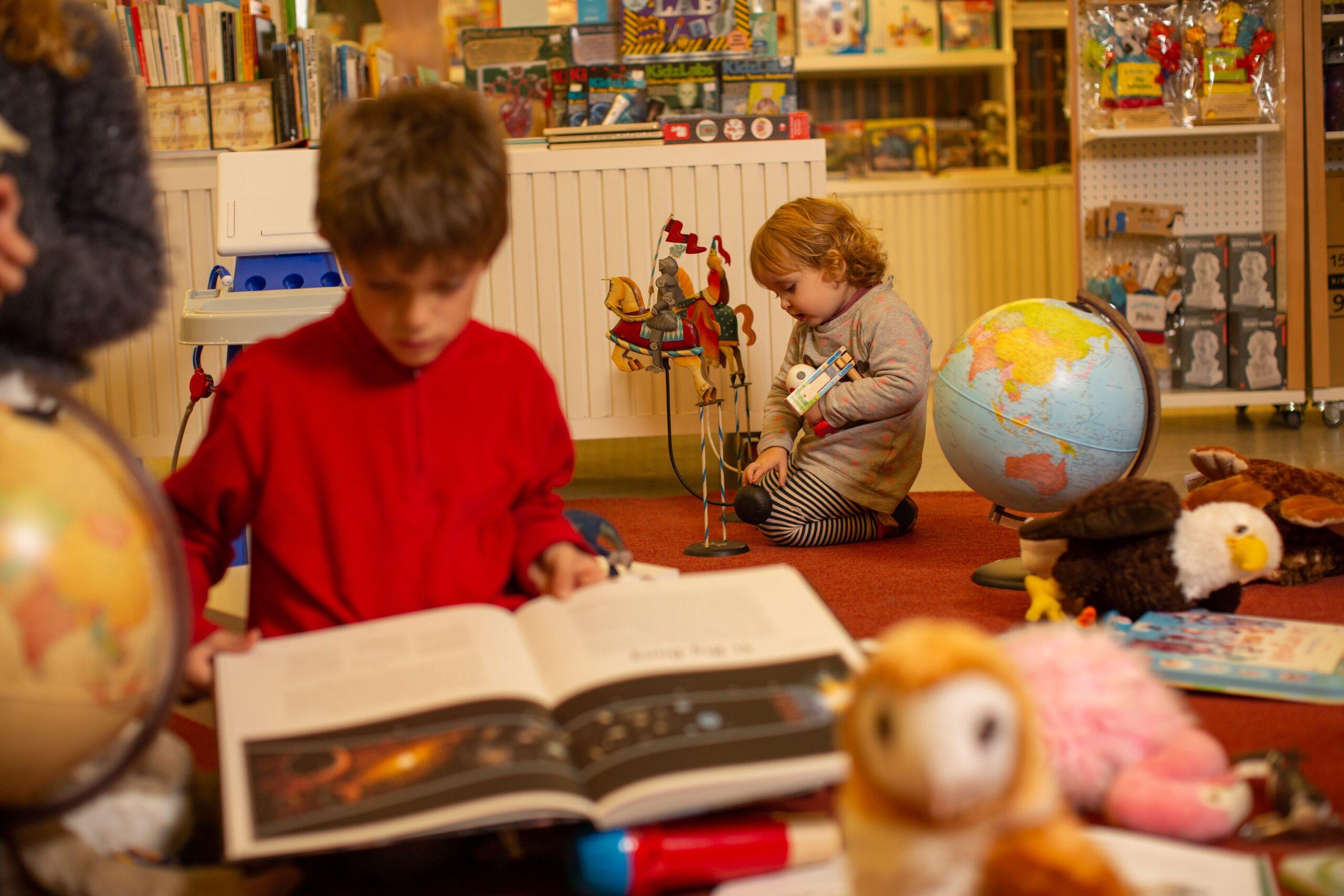 Libros y juguetes científicos